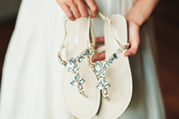 Where to buy wedding shoes in Singapore: Chic flat shoes for brides Honeybrides