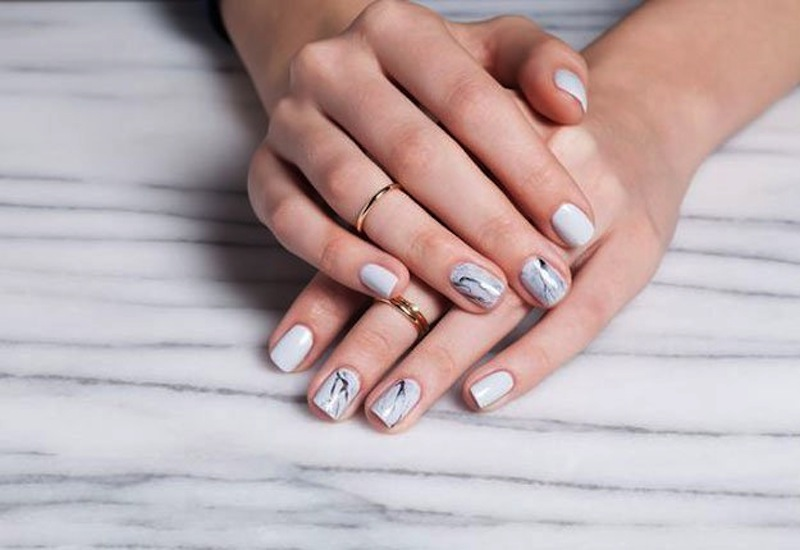 Nail Art Designs For Brides Wedding Worthy Manicure Ideas Your Big Day Honeybrides