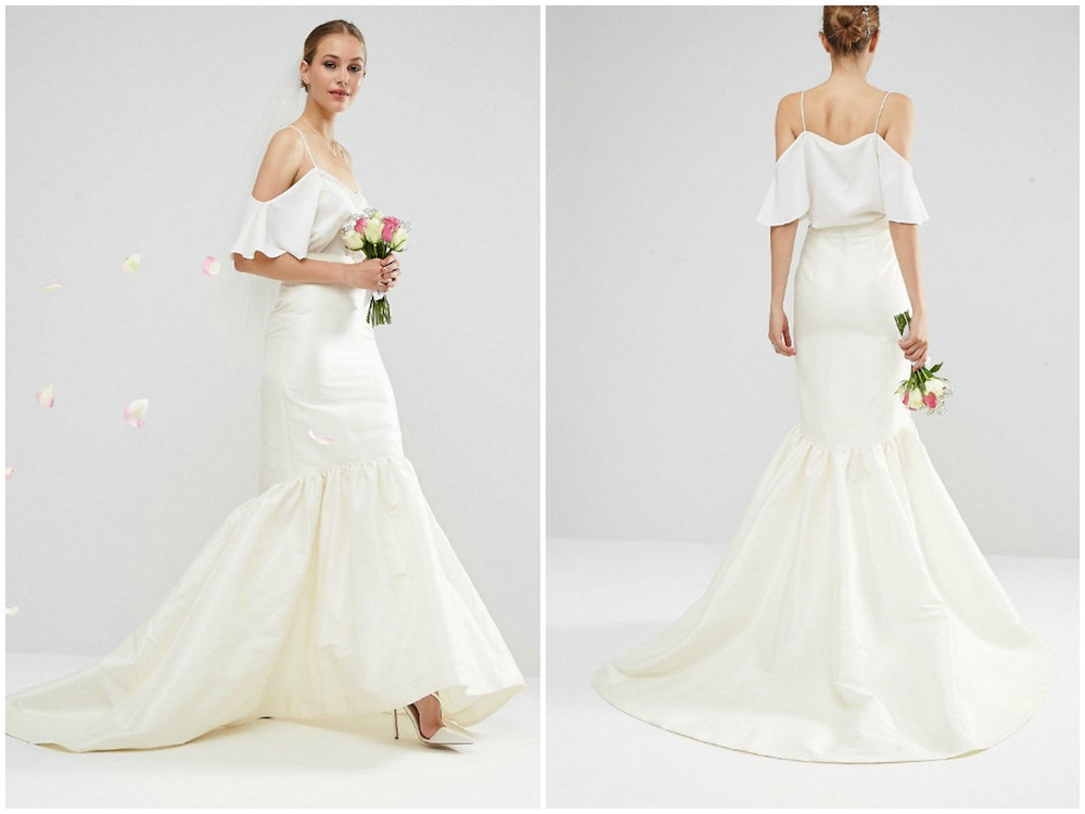 Wedding dresses in Singapore: Where to shop online for two-piece bridal gowns Honeybrides