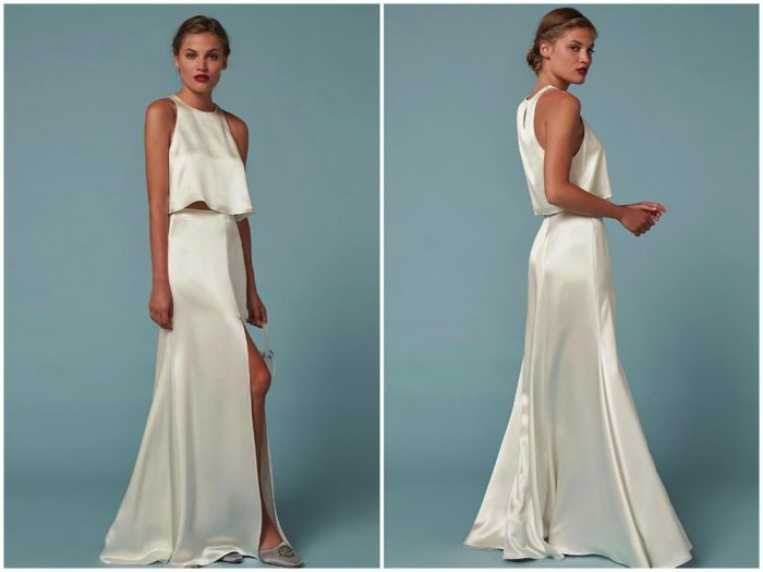 fd7fa85df7 Wedding dresses in Singapore: Where to shop online for two-piece bridal  gowns Honeybrides