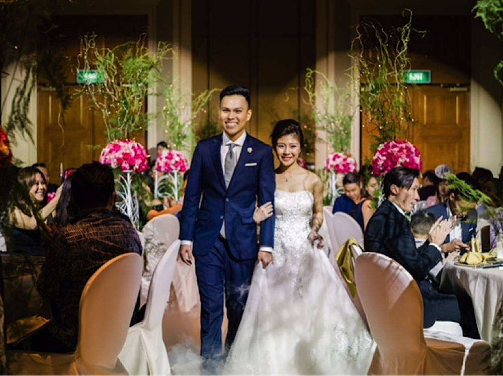 Real Weddings Singapore: Hotel Weddings In Singapore: Why Conrad Centennial
